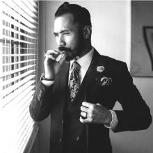 stilvollen business Frisur für Männer