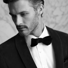 stilvollen kurze Frisuren für Männer