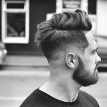 stilvollen stilvolle Herren Haarschnitte