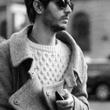straight medium zu hipster-lange Haare Männer