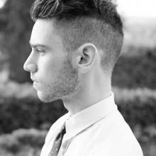 summte Seite kurze Frisuren für Männer