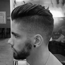 taper Seite Herren kurze Länge Frisur