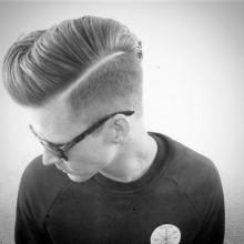 taper fade Haarschnitt für Jungs