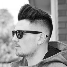 tolle Herren-Haut-fade-Haarschnitt inspiration