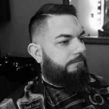 trendigen Frisuren kurze fade-für Männer