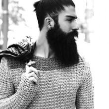 trendigen samurai-Frisuren mit langen Länge für Jungs