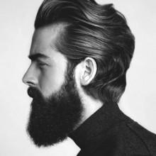 ultra wellige männliche stilvolle Frisuren