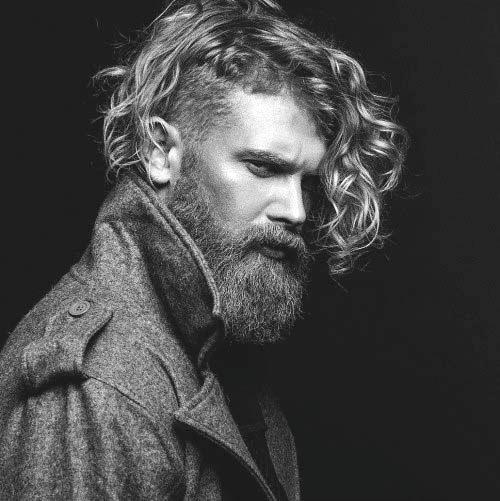 Undercut Frisuren Für Lange Lockige Haare Bei Männern
