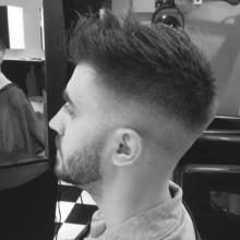 undercut Herren kurze Frisuren für dünne Haare