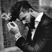 unique Herren-undercut-Haarschnitt