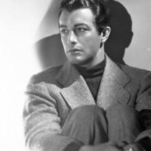 wellig gekämmt robert taylor 1940er Frisuren für Männer