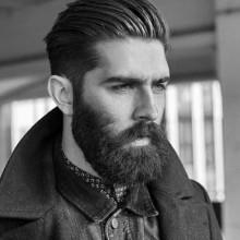 zeitloses old-school-medium men hair styles