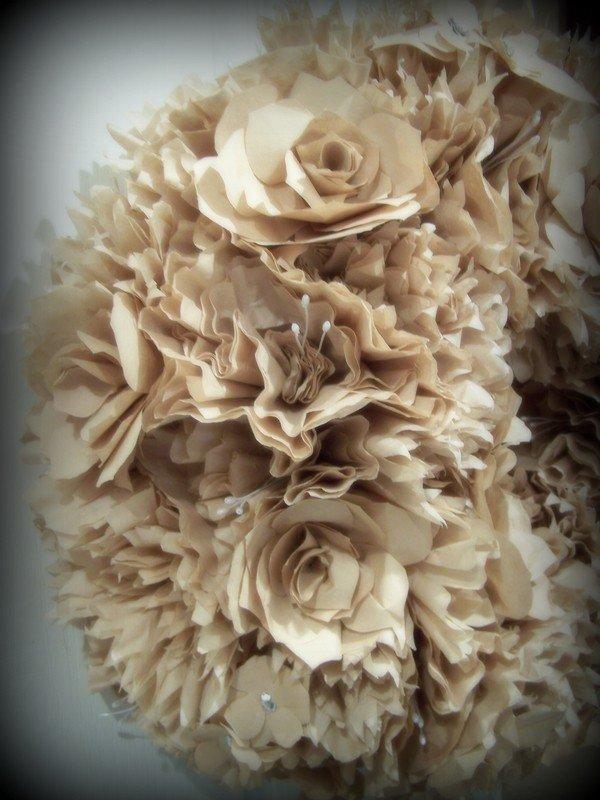 awesome diy coffee filter wreath papier handwerk urlaub dekoration, Hause ideen