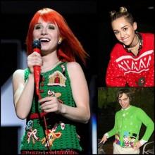 Berühmtheiten hässliche Weihnachts-Pullover-Ideen