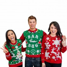 Christmas party-Ideen ugly Christmas sweater party-Spaß-Ideen