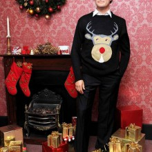 Colin Firth als Mark Darcy funny Christmas-Pullover-Ideen