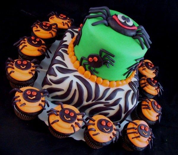 Coole Halloween Kuchen Dekoration Spinne Halloween Kuchen Halloween