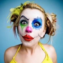 Coole Halloween-make-up-clown make-up für Frauen DIY-halloween-Kostüm -