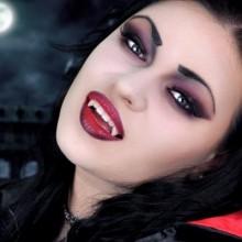 DIY-Vampir-make-up-Ideen, einfache halloween make-up Ideen