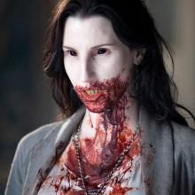 DIY-Vampir-make-up-Ideen, einfache halloween make-up Ideen wie man Blut