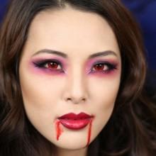 DIY Vampir make-up Ideen, halloween make-up-Tipps und tricks
