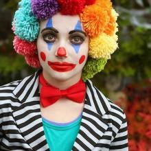 DIY-clown make-up halloween-make-up-Ideen, einfache make-up