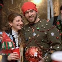 DIY hässliche Weihnachts-Pullover-Ideen-Perlen mini-Weihnachtsgeschenke