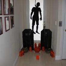 DIY halloween-Dekorationen hausgemachte halloween-Dekoration last-minute-Dekor-Ideen