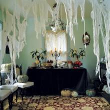 DIY halloween-Dekorationen spooky Wohnzimmer Gaze