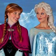 Die meistgesuchten halloween-Kostüme Königin Elsa, Prinzessin Anna halloween-Kostüme für Frauen