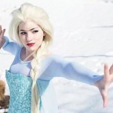 Die meistgesuchten halloween-Kostüme für Frauen eingefroren Elsa