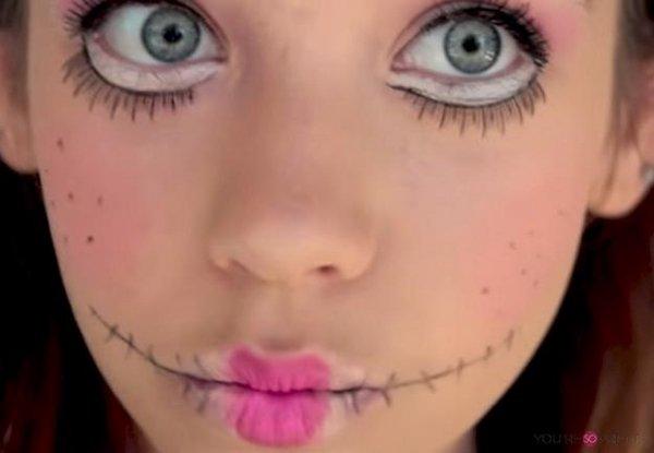 Einfache Halloween Make Up Ideen Diy Coole Make Up In Einem Tick
