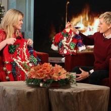 Ellen DeGeneres show hässliche Weihnachts-Pullover-Ideen
