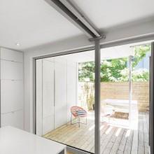 Erdgeschoss-Wohnung Renovierung 867 De Bougainville Holz-Terrasse
