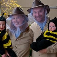 Familie Halloween-Kostüme Ideen bee Mutter-Vater-baby-Kostüme