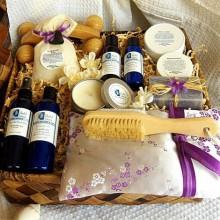 - Geschenk-Körbe für Frauen-Weihnachts-Geschenk-Ideen spa cosmetics
