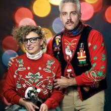 Hässlich Christmas sweater Ideen Weihnachtsfeier lustige Ideen