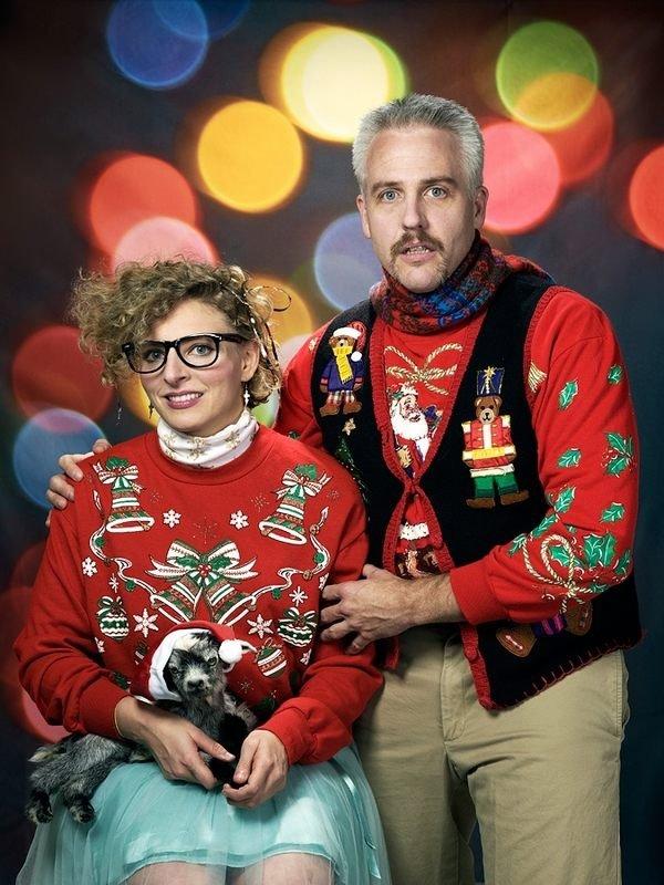 Lustige Ideen Für Weihnachtsfeier.Hässlich Christmas Sweater Ideen Weihnachtsfeier Lustige Ideen