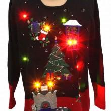 Hässliche Weihnachts-Pullover-Ideen Weihnachts-Pullover mit Beleuchtung