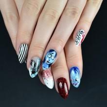 Halloween Acryl-Nägel Ideen-Halloween-Nagel-Kunst-Ideen e1468908164626