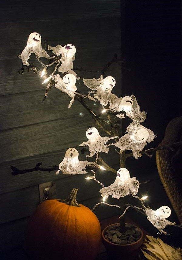 Kreative Halloween baumschmuck – DIY holiday Dekor-Ideen