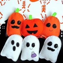 Halloween Baum Dekoration halloween fühlte Ornamente Geister Kürbisse