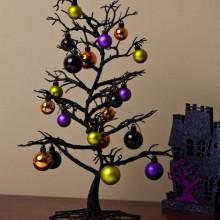 Halloween Baum Dekoration schwarz-Baum Weihnachtsschmuck