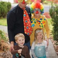 Halloween-Kostüm-Ideen Thema Zirkus, clown Perücken, Nasen-Prinzessin Mädchen -