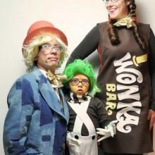 Halloween-Kostüme-Film inspiriert Charlie und die Schokoladenfabrik Thema