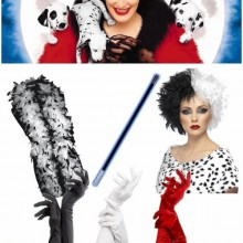 Halloween fancy dress Kostüme Halloween-Kostüme für Frauen cruella de vil