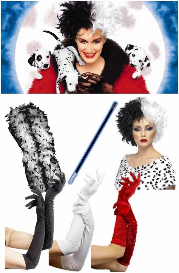 Halloween Fancy Dress Kostüme Halloween Kostüme Für Frauen Cruella