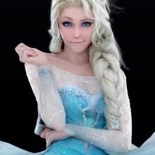 Halloween fancy dress Kostüme Halloween-Kostüme für Frauen-elsa frozen e1469166225388