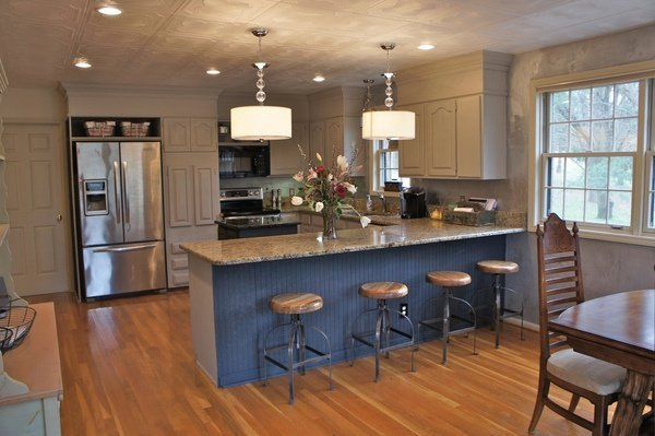Kreide gemalt Küchenschränke Küche design-Ideen Küche Renovierung ...