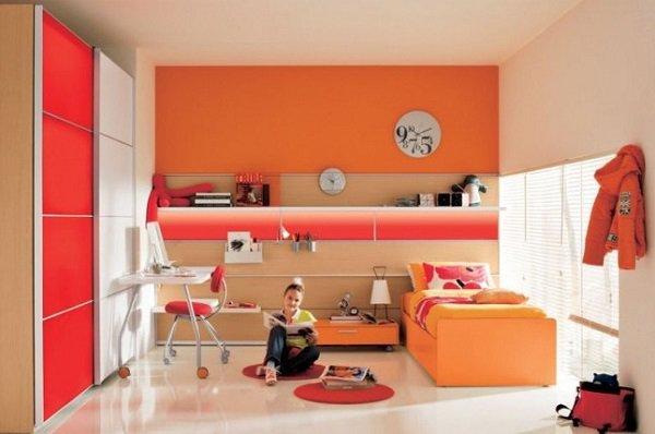 Schlafzimmer : Schlafzimmer Ideen Orange Schlafzimmer Ideen At ... Schlafzimmer Orange